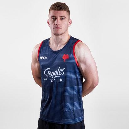 ISC Sydney Roosters NRL 2019 - Débardeur de Rugby Entraînement Joueurs