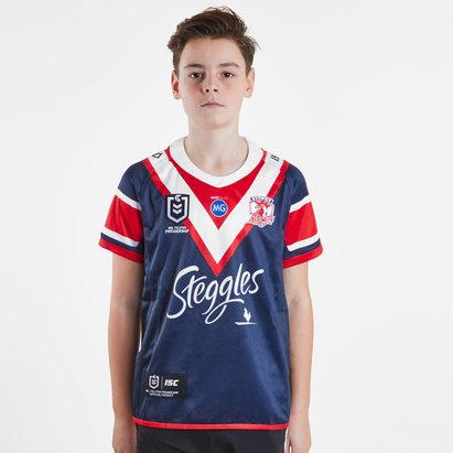 ISC Sydney Roosters NRL 2019 - Maillot de Rugby Domicile Enfants