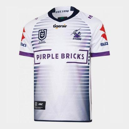 ISC Melbourne Storm NRL 2019 - Maillot de Rugby Alterné