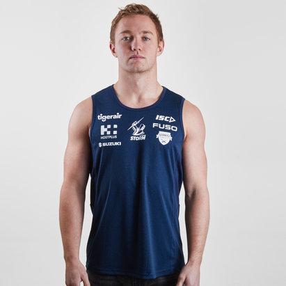 ISC Melbourne Storm NRL 2019 - Débardeur de Rugby Entraînement Joueurs