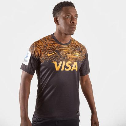 Nike Maillot de Rugby manches courtes, Jaguars 2019 domicile pour hommes