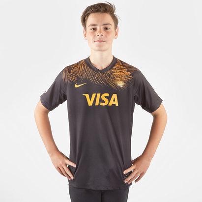 Nike Maillot de Rugby manches courtes, Jaguars 2019 domicile pour enfants