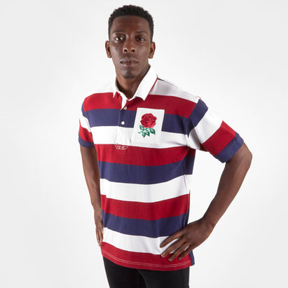 VX-3 Polo de Rugby vintage manches courtes, Angleterre 2019/2020