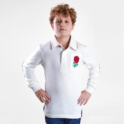 VX-3 Polo de rugby vintage pour enfants, Angleterre 2019/2020