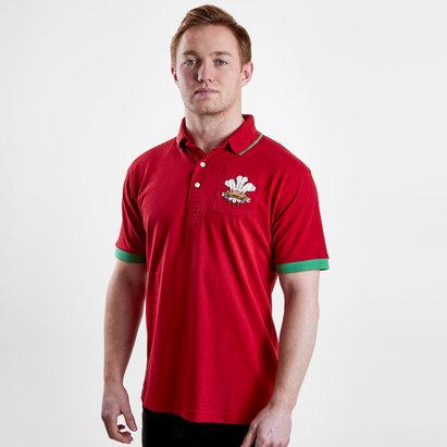 VX-3 Polo de rugby vintage du Pays de Galles 2019/2020