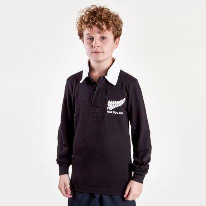 VX-3 Polo de Rugby vintage pour enfants, Nouvelle Zélande 2019/2020