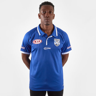 Classic Sportswear Polo de Rugby pour joueurs (média), Canterbury Bulldogs 2019 NRL
