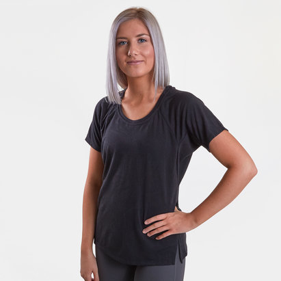 adidas T-shirt d'entraînement pour femmes, Aeroknit d'adidas