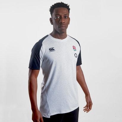 Canterbury T-shirt de rugby en coton Angleterre 2019/20