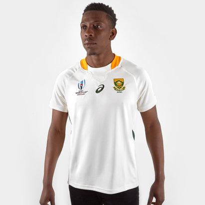 Asics Maillot de Rugby réplique alternatif, Springboks d'Afrique du Sud, Coupe du monde 2019