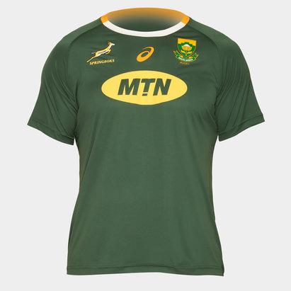 Asics Tshirt de Rugby supporters, Springboks d'Afrique du Sud domicile, Coupe du monde 2019