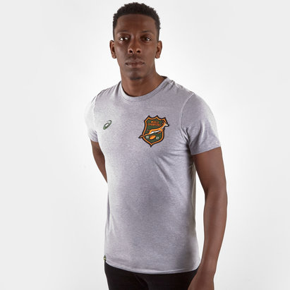 Asics T-shirt de Rugby Heritage, Springboks d'Afrique du sud 2019/2020