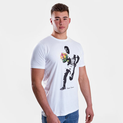 Rugby Division T-shirt de Rugby Bouquet Graphic