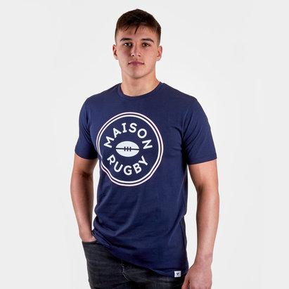 Rugby Division T-shirt avec inscription