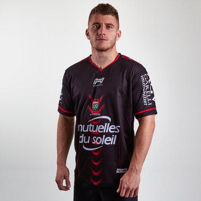 Hungaria Réplique Maillot Rugby Toulon 2018/19 Domicile pour hommes