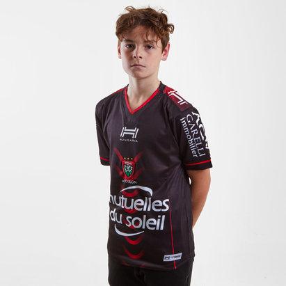 Hungaria Réplique Maillot de Rugby Toulon 2018/19 Domicile pour enfants