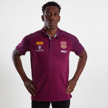 ISC Polo de Rugby Performance des Queensland Maroons, State of Origin 2019