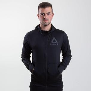 Reebok Sweat à capuche avec zip intégral, SpeedWick