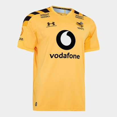 Under Armour Wasps 2019/20 Alternate S/S Replica Rugby Shirt