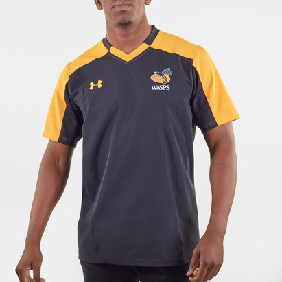 Under Armour Wasps 2019/20 Players S/S Rugby Training Shirt