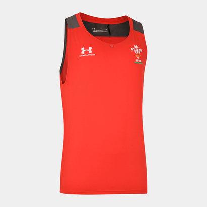 Under Armour Débardeur d'entraînement Joueurs, Pays de Galles WRU 2019/2020