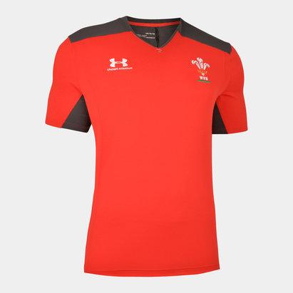 Under Armour T-shirt d'entraînement joueur, Pays de Galles WRU 2019/2020