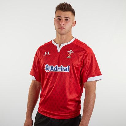 Under Armour Maillot Réplique Rugby à 7, Pays de Galles WRU domicile 2019/2020