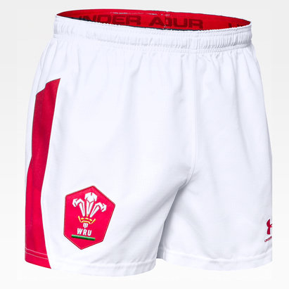 Under Armour Wales WRU 2019/20 Kids Home Shorts