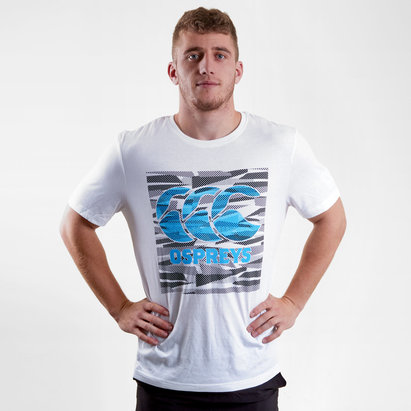 Canterbury Ospreys 2018/2019, T-shirt de Rugby