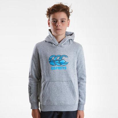 Canterbury Ospreys 2018/2019, Sweatshirt de Rugby avec capuche de l'Equipe, taille enfants