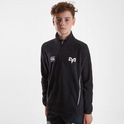Canterbury Ospreys 2018/19, Veste de Rugby pour enfant avec col zippé
