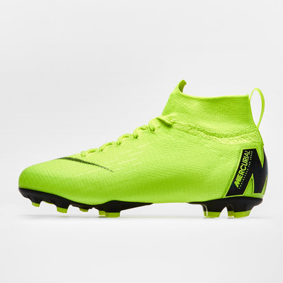 Nike Mercurial Superfly VI Elite, Crampons de Football pour enfants, Terrain sec