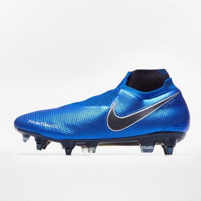 Nike Phantom Vision Elite largeur de pied D, Crampons de Football Pro, Terrain mou