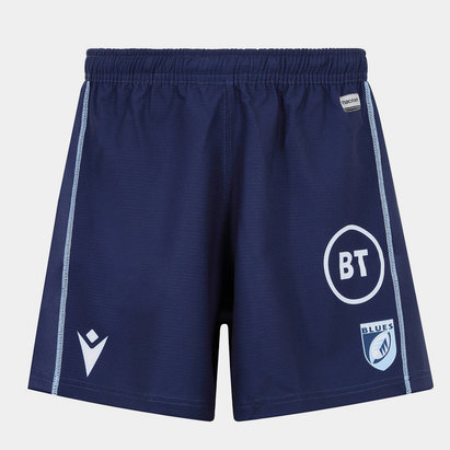 Macron Cardiff Blues 2019/20 Kids Home Rugby Shorts
