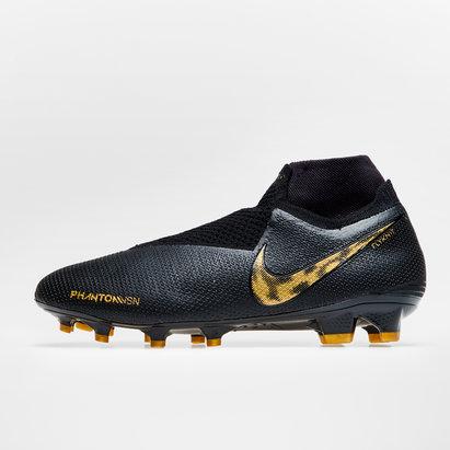 Nike Phantom Vision Elite, Largeur de pied D, Crampons Pro de Football, Terrain sec