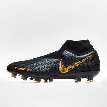 Nike Phantom Vision Elite, Largeur de pied D, Crampons Pro de Football, Terrain synthètique
