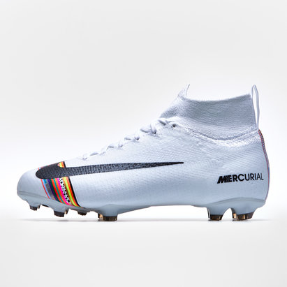 Nike Mercurial Superfly VI Elite, Crampons de Foot Pro pour enfants, Terrain sec