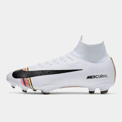 Nike Mercurial Superfly VI, Crampons de Foot Pro, Terrain sec