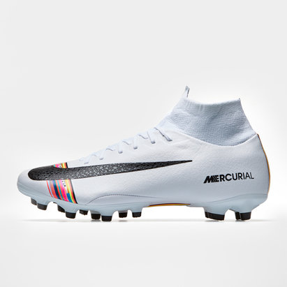 Nike Mercurial Superfly VI, Crampons de Foot Pro, Terrain synthétique