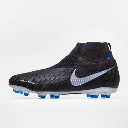Nike Phantom Vision, Crampons de Football Elite D-Fit pour enfants, Terrain sec/Multisurface
