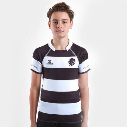 Gilbert Barbarians 2019, Haut Pro de Rugby domicile manches courtes pour enfants