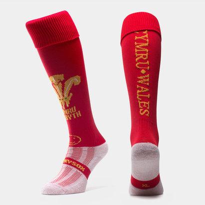 Wacky Sox Pays de Galles - Chaussettes de Rugby Wackysox Classiques