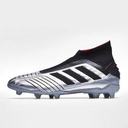adidas Predator 19+, Crampons de Football pour enfants, Terrain sec
