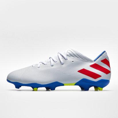 adidas Nemezis Messi 19.3, Crampons de Football, Terrain sec