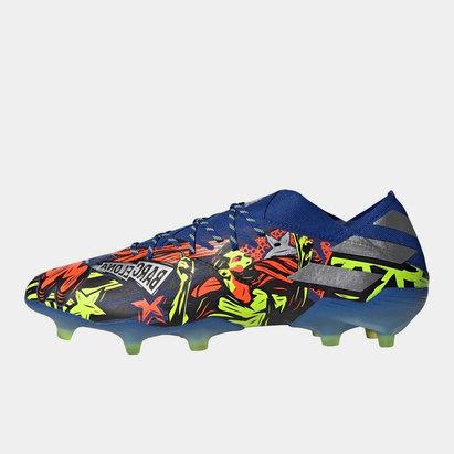 adidas Nemeziz Messi 19.1, Crampons de Football, Terrain sec
