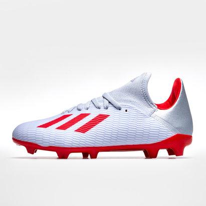 adidas X 19.3, Crampons de Football pour enfants, Terrain sec