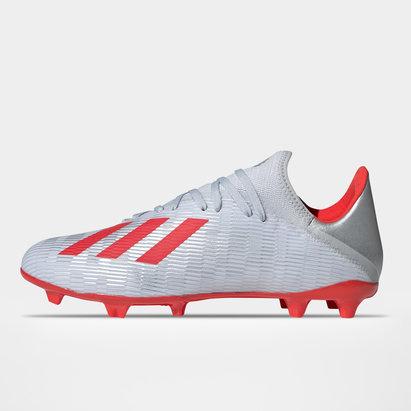 adidas X 19.3, Crampons de Football, Terrain sec