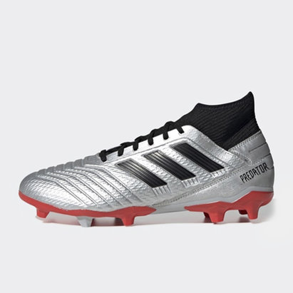 adidas Predator 19.3, Crampons de Football, Terrain sec