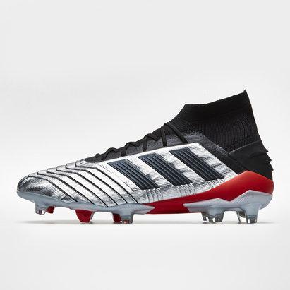 adidas Predator 19.1, Crampons de Football, Terrain sec