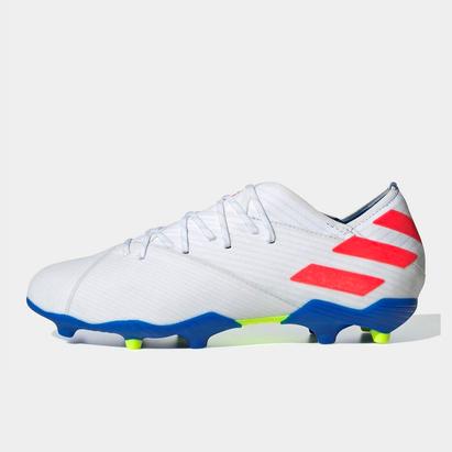 adidas Nemezis Messi 19.1 crampons de Football pour enfants, Terrain sec